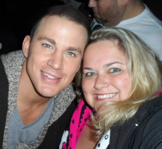 pinky posing with sexy hot channing tatum for a fan photo rare promo hot sexy dear john the vow sex