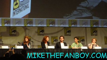 game of thrones cast panel at san diego comic con 2012 sdcc 2012 rare promo panel