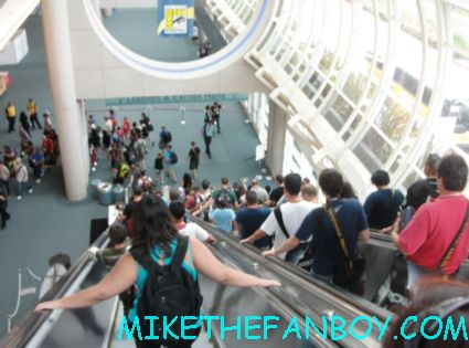 comic con 2012 rare the lines and the crowds of chaos cosplayers rare