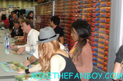brickleberry signing cast autograph at san diego comic con 2012 sdcc rare promo fox booth