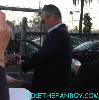 friends star matt leblanc signing autographs for fans outside jimmy kimmel live episodes rare promo hot sexy