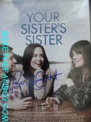 rosemarie DeWitt signing autographs for fans after a talk show taping the united states of tara rare promo hot sexy my sister's sister Rosemarie DeWitt signed autograph rare promo photo the united states of tara hot sexy promo photo