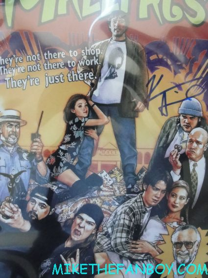 kevin smith signed autograph mallrats rare promo mini movie poster promo hot sexy rare