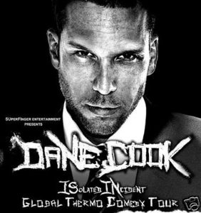 Dane Cook hot and sexy live in concert promo poster concert tour rare waiting... good luck chuck