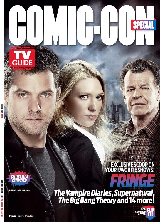 Fringe rare tv guide san diego comic con limited edition magazine cover rare promo