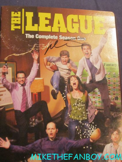 mark duplass signed autograph the league rare promo dvd cover insert hot rare jeff who lives at home