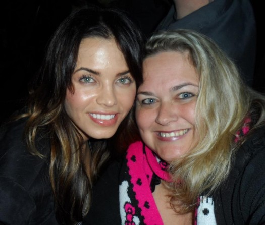 pinky posing with sexy hot jenna dewan tatum for a fan photo rare promo hot sexy dear john the vow sex