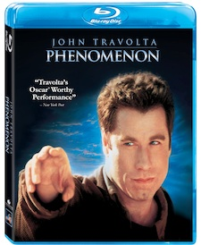 PhenomenonBluraysmall phenomenon blu ray cover art rare key art blu ray cover box art hot sexy john travolta rare