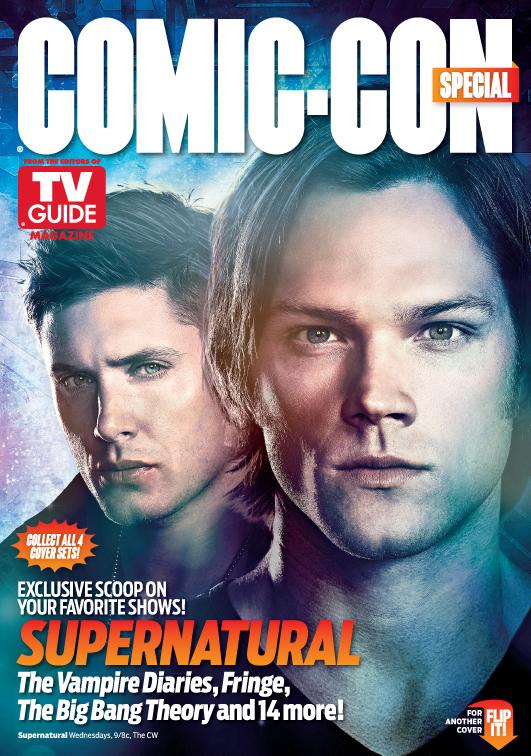 supernatural rare tv guide san diego comic con limited edition magazine cover rare promo