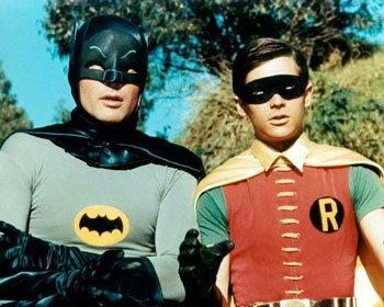 buddy_system rare batman adam west and robin burt ward promo photo 1960's batman rare