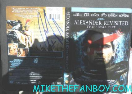 colin farrell signed autograph Alexander DVD Cover hot sexy alexander fright night star