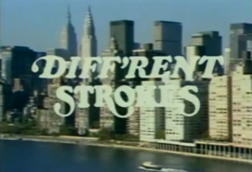 different strokes main title credits new york city buildings conrad bain gary coleman charlotte rae todd bridges