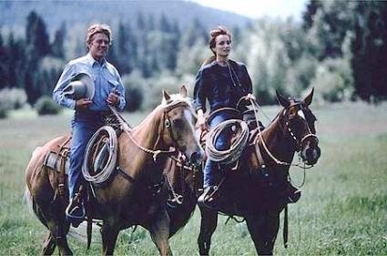 horse-whisperer-movie promo movie still blu ray movie review robert redford scarlett johansson hot child actress