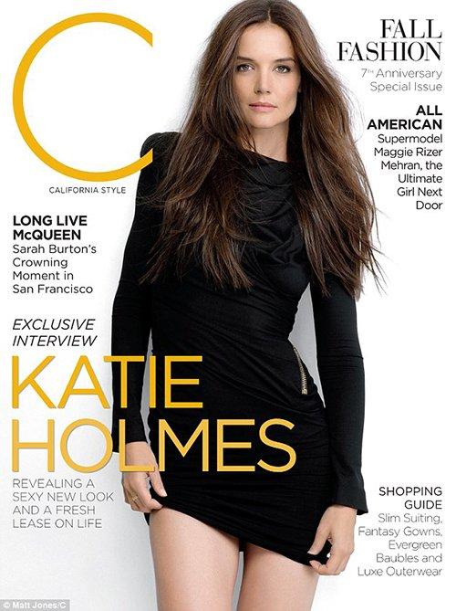katie-holmes-c-mag-september-2012- (3) katie holmes sexy hot photo shoot c magazine september 2012 magazine cover