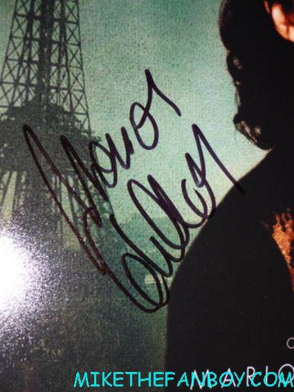 Marion Cotillard signed autograph la vie en rose promo mini movie poster hot sexy rare promo fine signature