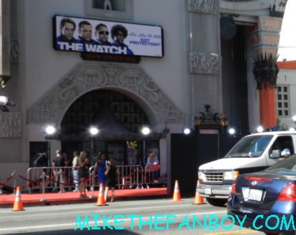 the crowd of people the watch movie premiere red carpet with ben stiller vince vaughn jonah hill and more