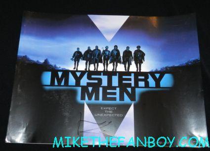ben stiller signed autograph mystery men uk quad mini movie poster promo hot sexy rare