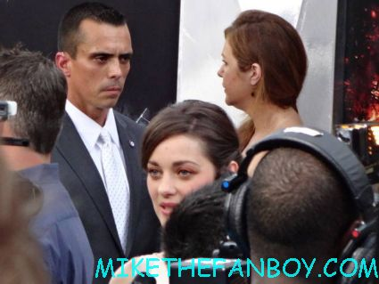 Marion Cotillard arriving to the dark knight Rises world movie premiere in new york city rare promo hot