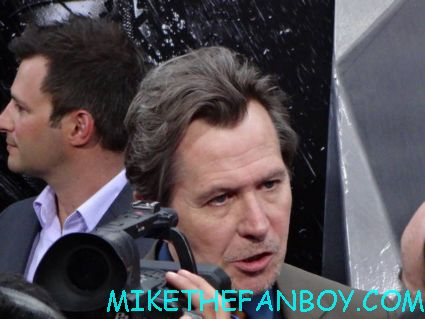 gary oldman arriving to the dark knight Rises world movie premiere in new york city rare promo hot
