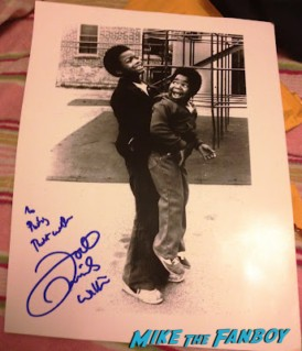 todd bridges signed autograph photo with different strokes star gary coleman rare promo press still signature rare promo