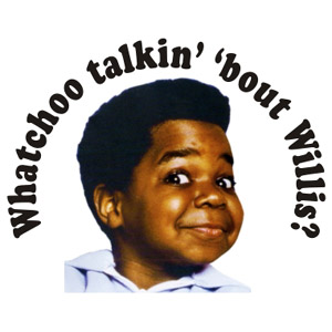 whatchoo-willis whatcha talking about Willis rare gary coleman gif rare promo different strokes press promo still rare