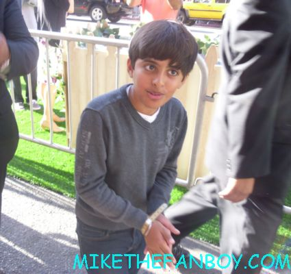 Karan Brar (Diary of a Wimpy Kid) the odd life of timothy green world movie premiere red carpet with jennifer garner and joel edgerton