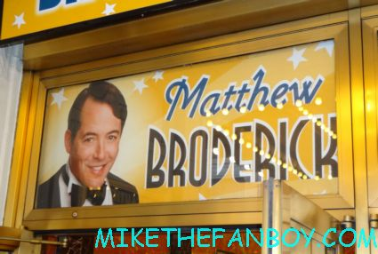 nice work if you can get it marquee starring matthew broderick new york city broadway live theatre rare promo