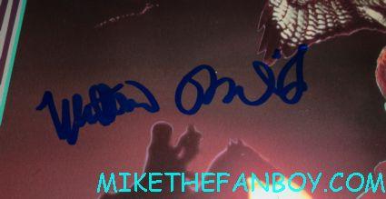 matthew broderick signed autograph ladyhawke rare laserdisc promo movie poster signature rare