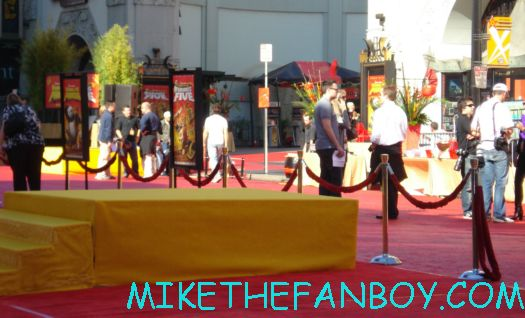 movie premiere for the dvd release of kung foo panda on dvd with angelina jolie dustin hoffman jack black autographs and more