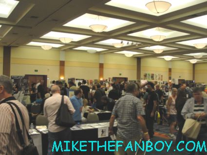 The Hollywood Show in Burbank at the Marriott rare promo autograph show rare meet celebrities