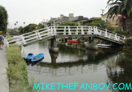 The venice canals in venice CA filming location for Valentine's Day A nightmare on elm street the doors and more
