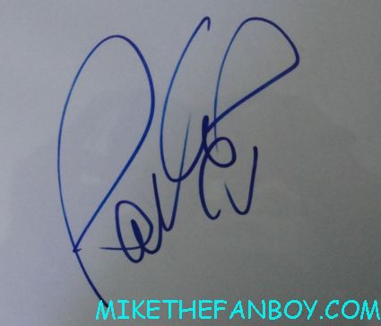 pauley perrette cast signed autograph index card rare hot sexy promo ncis star rare