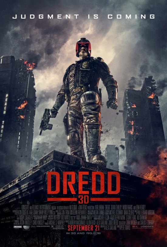 Dredd_3D_final_poster rare karl urban hot sexy as judge dredd movie poster one sheet rare promo hot sexy teaser poster