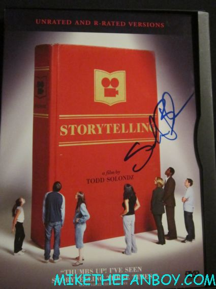 selma blair signed autograph storytelling dvd cover rare promo hot sexy todd solondz poster promo