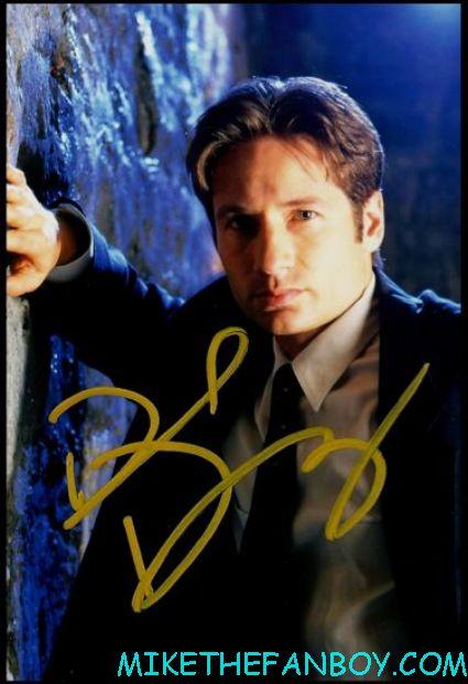 david duchovny signed autograph rare promo x files photo mulder scully hot promo photograph prmo