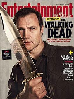 entertainment weekly the walking dead collector's magazine cover hot sexy Danai Gurira  Michonne  rare promo hot