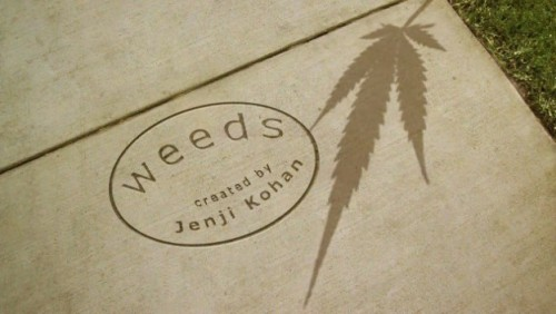Weeds-logo rare promo weeds created by Jenji kohan season 1 promo title image weeds logo hot