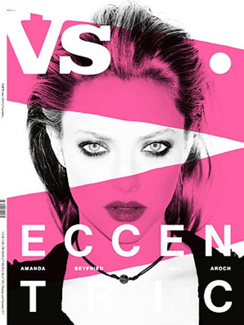 amanda seyfried vs. magazine cover hot sexy rare promo photo shoot fall 2012 rare sexy magazine hot