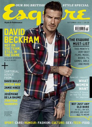 david-beckham-esquire-uk-september-2012 david beckham uk british esquire magazine september 2012 hot sexy photo shoot muscle rare promo la galaxy