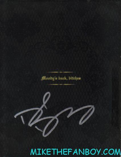 david duchovney signed autograph californication season 5 press kit rare promo hot signature autograph photo
