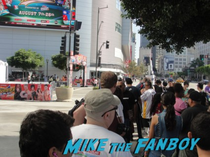 wwe Summer Slam Axxess 2012 fan event downtown los angeles signing autographs rare promo