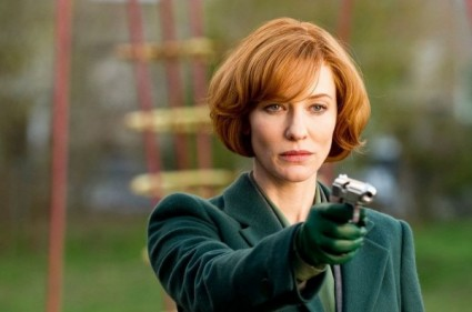 cate blanchett shooting a gun in a press promo still from hanna starring eric bana rare promo hot