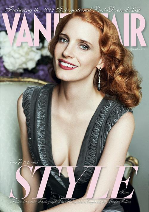 jessica-chastain-vanity-fair-september-2012- (4) jessica chastain nude naked photo shoot rare promo september vanity fair 2012 magazine cover promo photo shoot