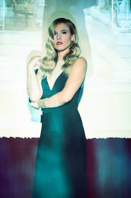 kirsten bell hot sexy photo shoot for zooey magazine elegant damn fine veronica mars sex promo hot blonde photo rare still