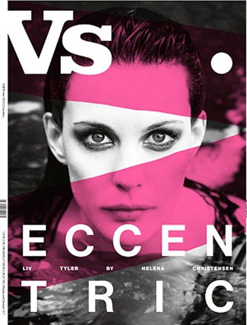liv tyler vs. magazine cover hot sexy rare promo photo shoot fall 2012 rare sexy magazine hot