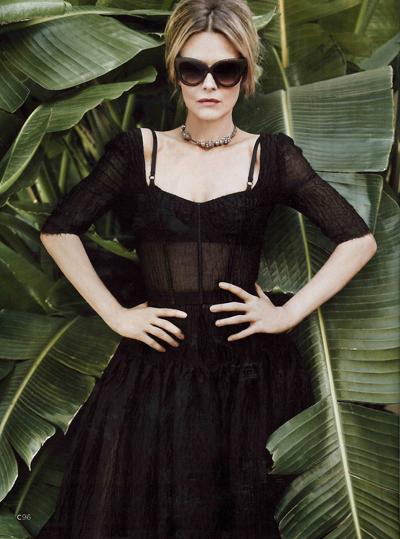 michelle-pfeiffer-dolce-and-gabbana-c-magazine-usa-april-2012-inside hot and sexy in sunglasses rare promo