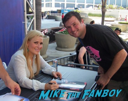 natalya sexy wrestler  ooking hot at the wwe Summer Slam Axxess 2012 fan event downtown los angeles signing autographs rare promo