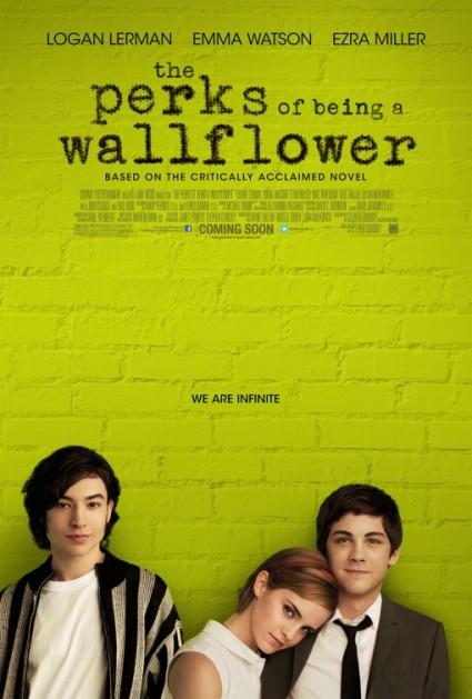 perks of being a wallflower rare promo movie poster hot emma watson rare logan lehrman one sheet movie poster