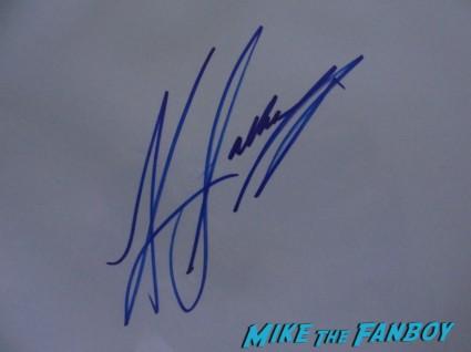Katee Sackhoff signed autograph rare promo signature battlestar galactica starbuck rare promo