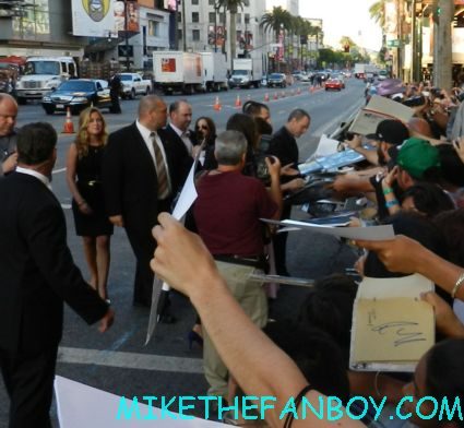 jessica biel signing autographs at the total recall world movie premiere hot sexy rare promo